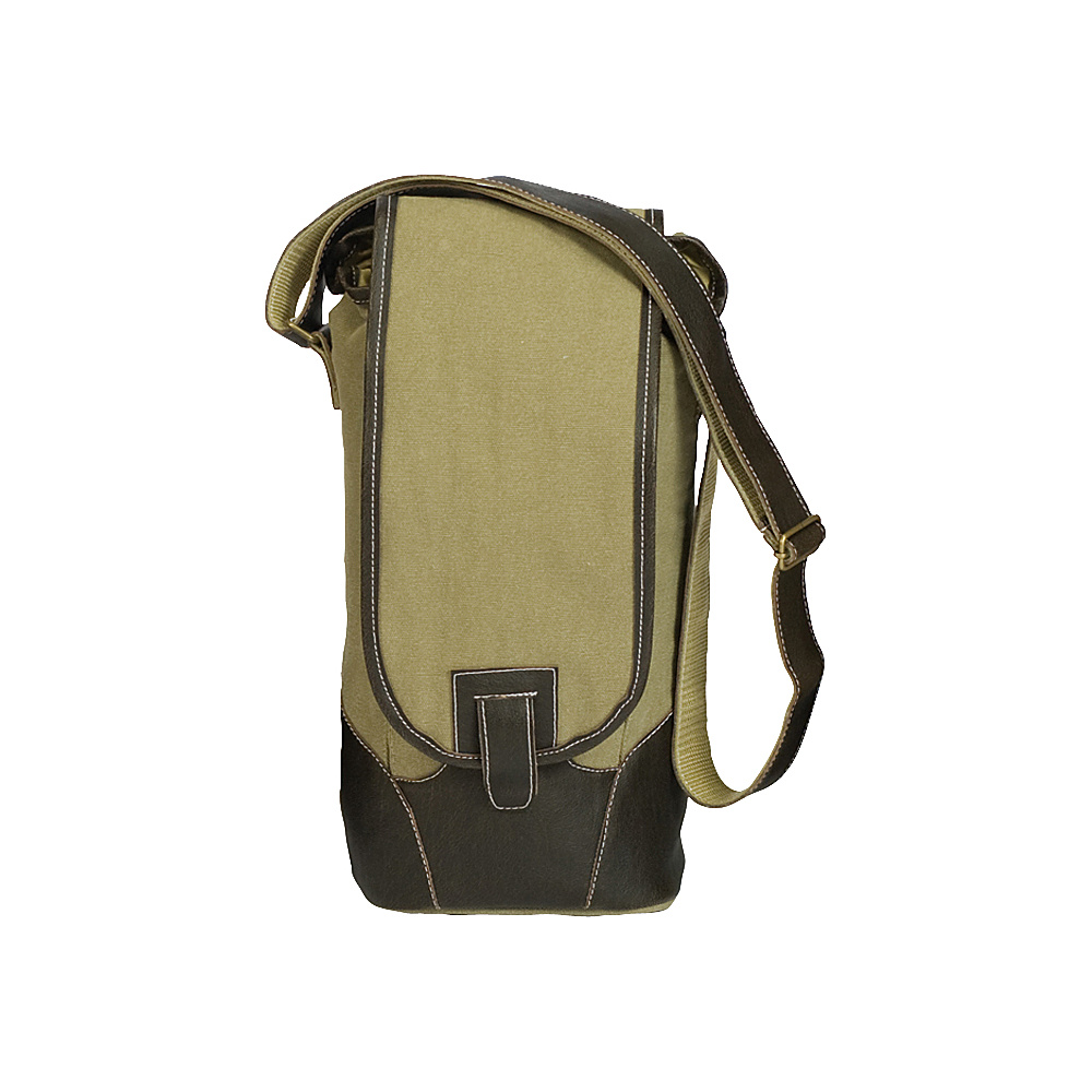 Picnic Plus Palmetto Single Wine Tote Olive