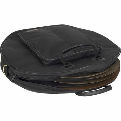 Protec Deluxe 6-Pack Cymbal Bag - Black