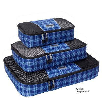 Artist Series Ltd Edition Blue Plaid