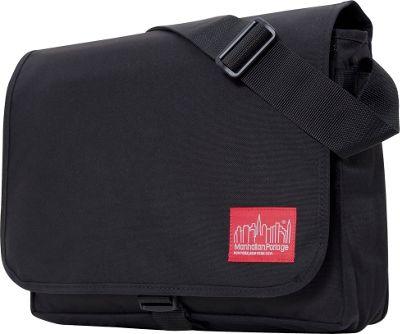 Manhattan Portage DJ Computer Bag Deluxe Black - Manhattan Portage Messenger Bags