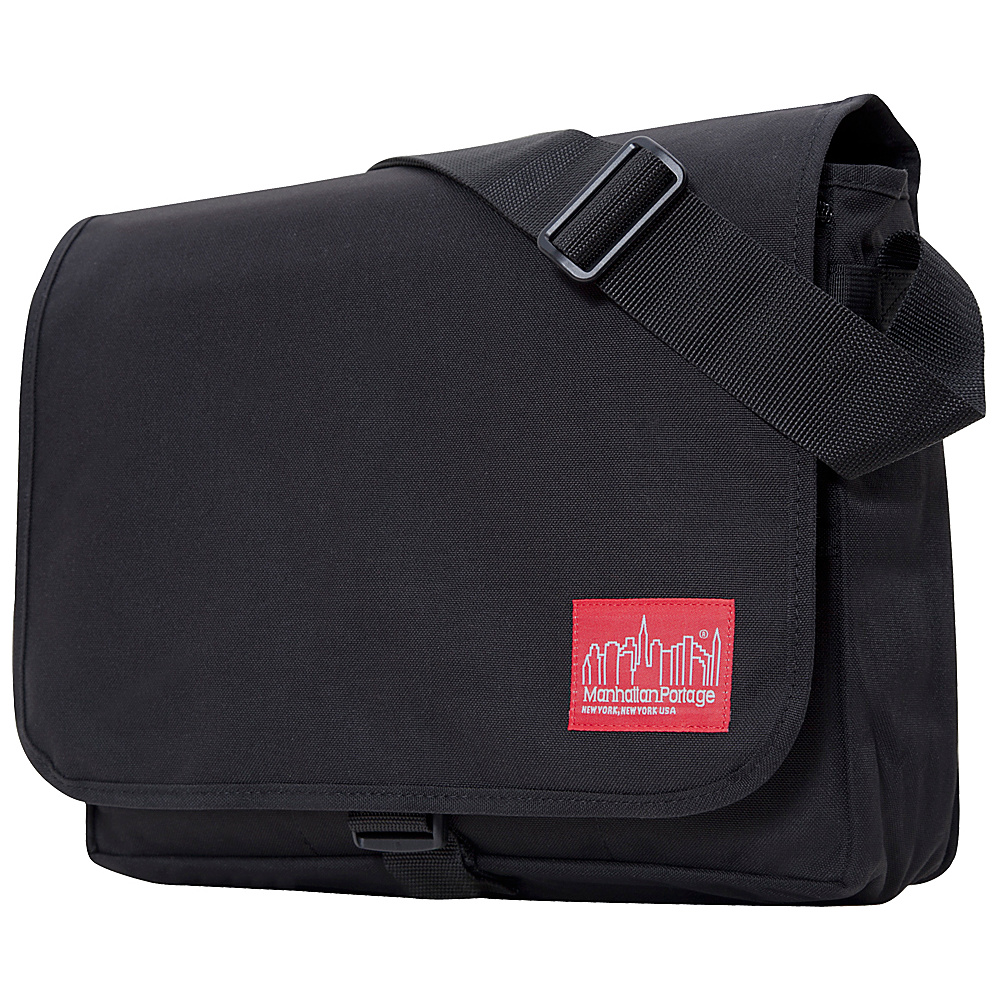 Manhattan Portage DJ Computer Bag Deluxe Black - Manhattan Portage Messenger Bags - Work Bags & Briefcases, Messenger Bags