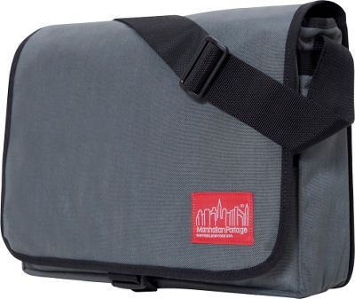 Manhattan Portage DJ Computer Bag Deluxe Gray - Manhattan Portage Messenger Bags