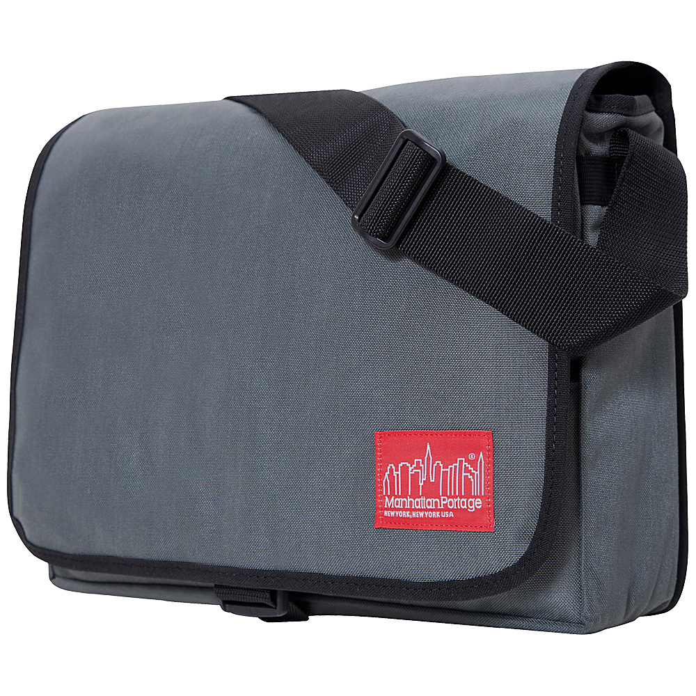 Manhattan Portage DJ Computer Bag Deluxe Gray - Manhattan Portage Messenger Bags - Work Bags & Briefcases, Messenger Bags