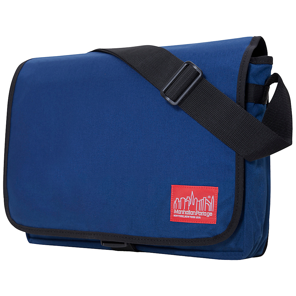 Manhattan Portage DJ Computer Bag Deluxe Navy - Manhattan Portage Messenger Bags - Work Bags & Briefcases, Messenger Bags