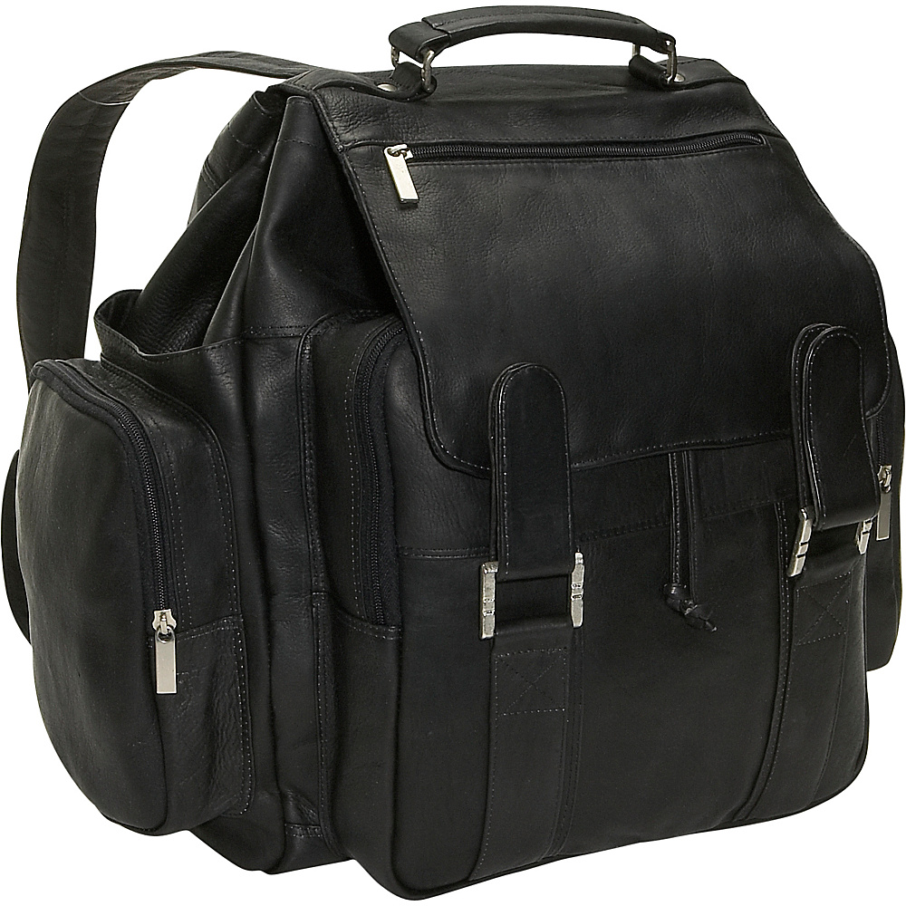 David King & Co. Top Handle Backpack Black - David King & Co. Manmade Handbags - Handbags, Manmade Handbags