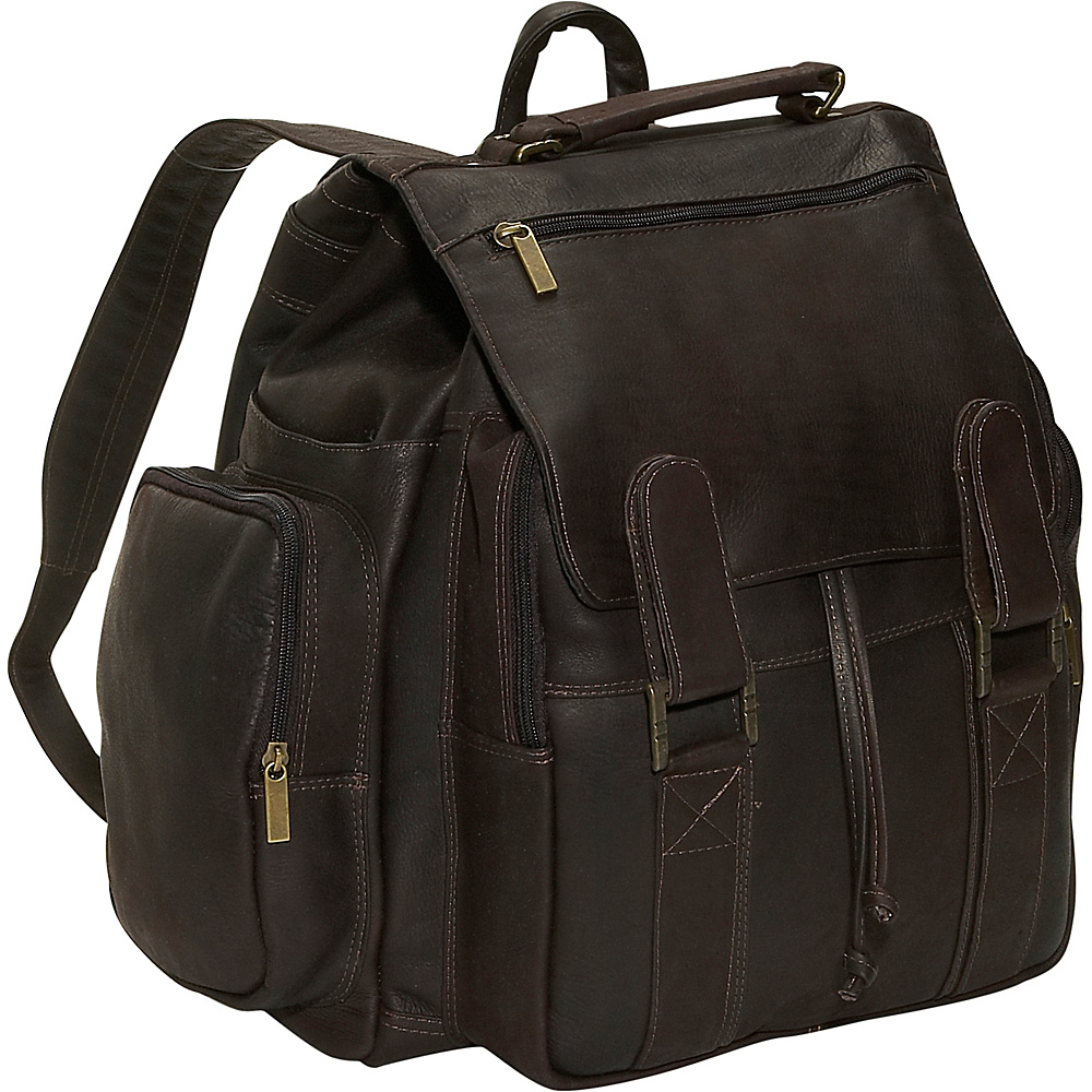 David King & Co. Top Handle Backpack - Cafe - Handbags, Manmade Handbags