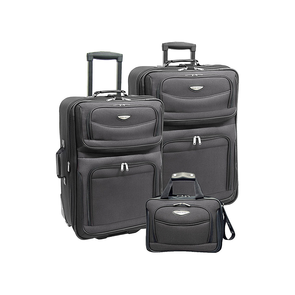 Travelers Choice Amsterdam 3-Piece Travel Collection - Luggage, Luggage Sets