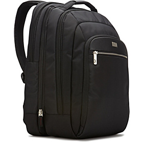Security Friendly Laptop Backpack Black