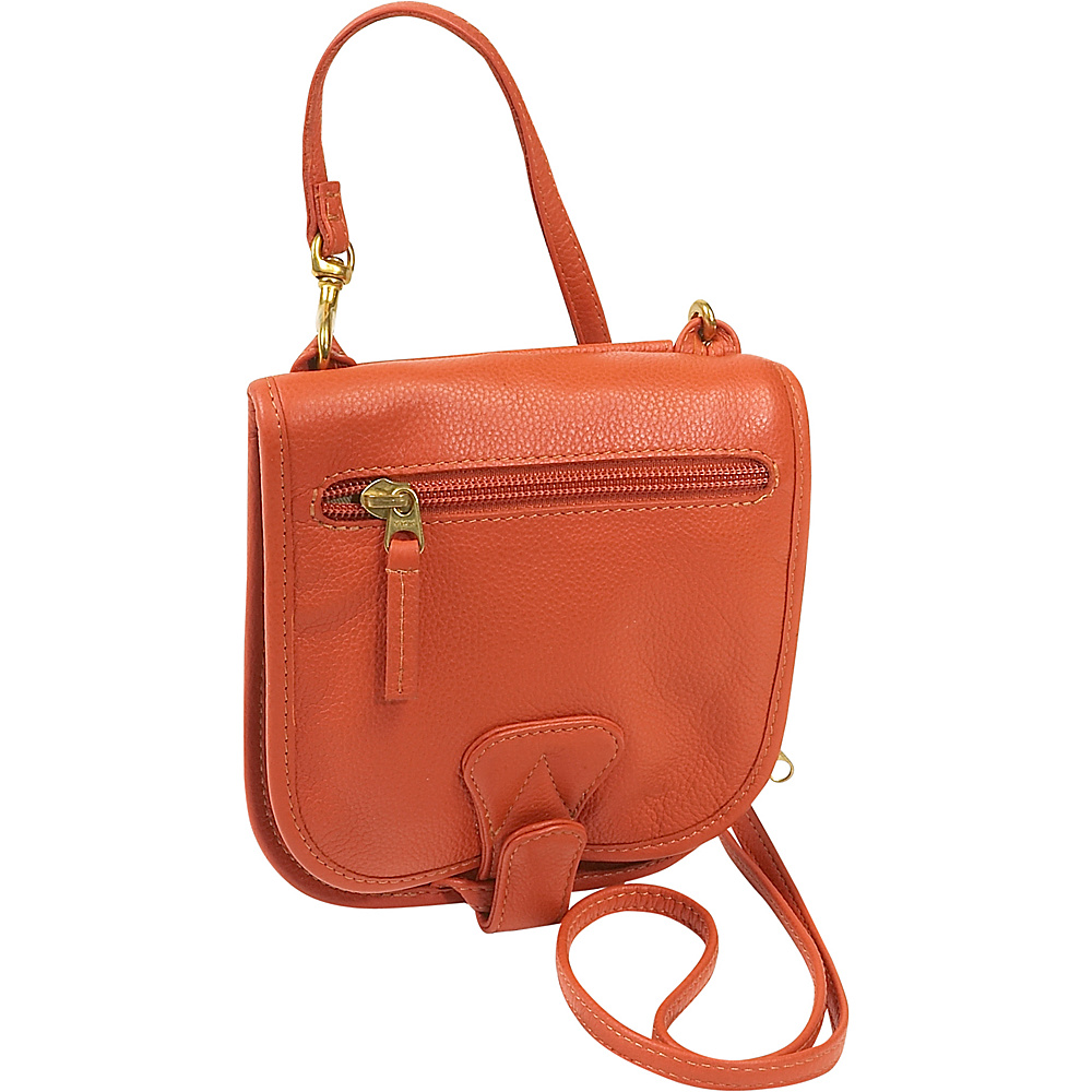 J. P. Ourse & Cie. Compact Companion - Curry - Handbags, Leather Handbags