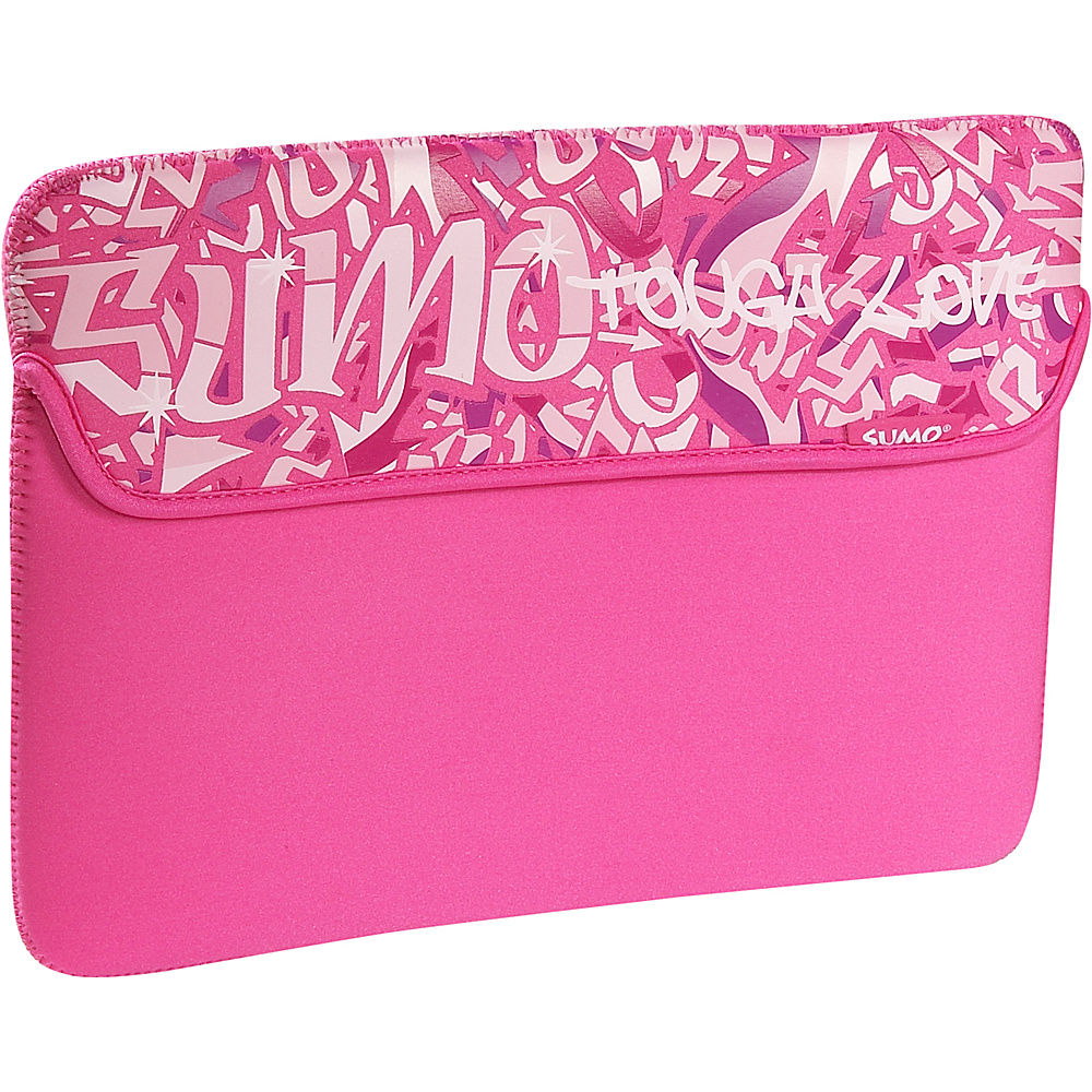 Sumo Graffiti Sleeve for 13 MacBook Pink