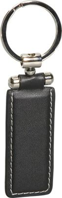Royce Leather Presidential Key FOB - Black