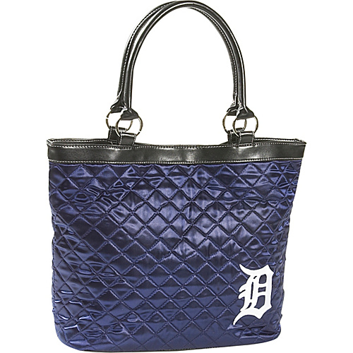 Littlearth Quilted Tote - Detroit Tigers Detroit Tigers - Littlearth Fabric Handbags