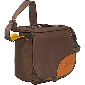 Donner Shoulder Bag Coffee Bean/Golden Yellow