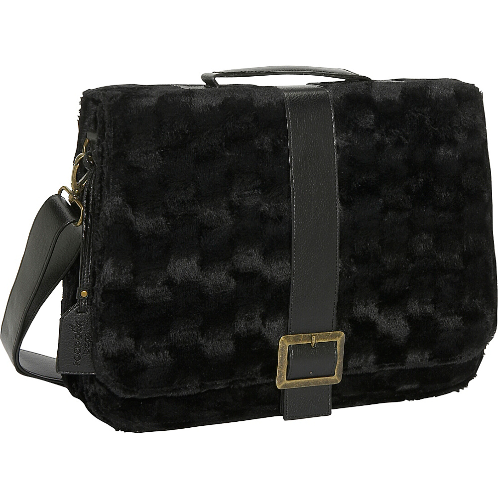 Soapbox Bags Jesse Black Fur