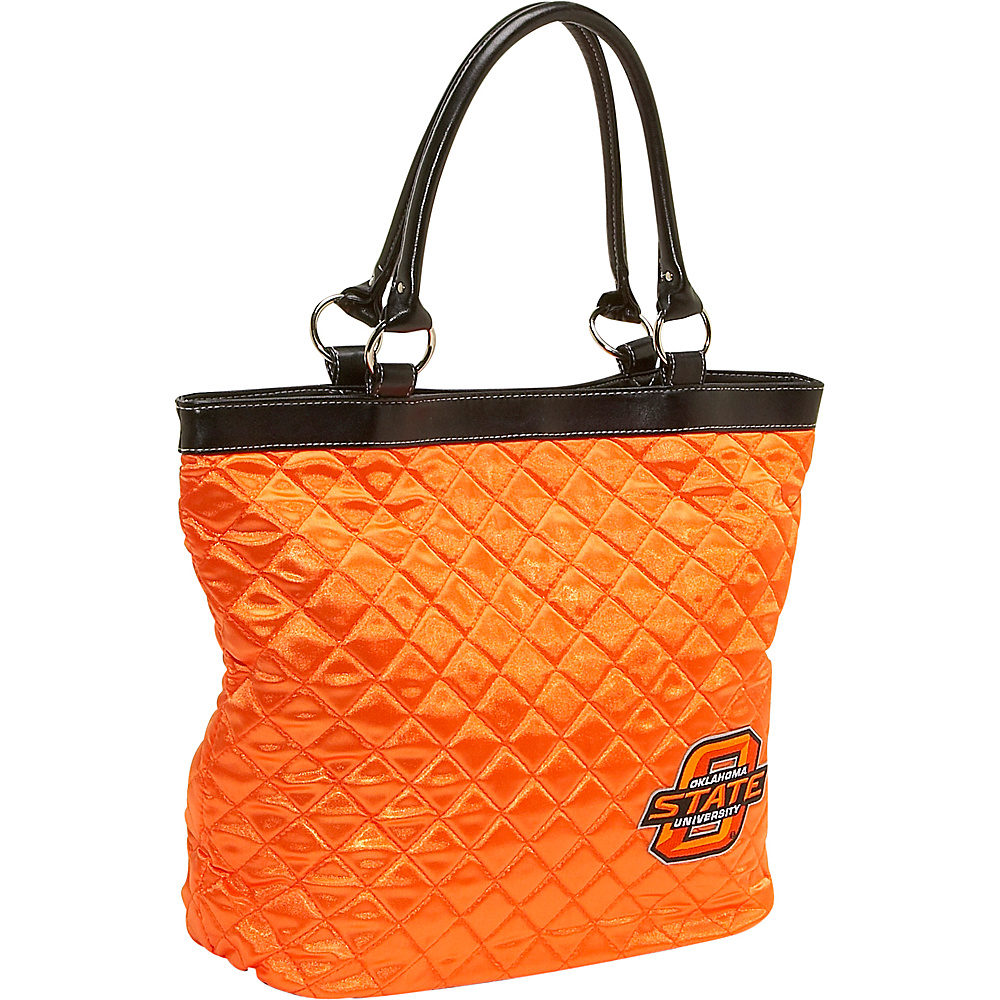 Littlearth Quilted Tote - Oklahoma State University Oklahoma State University - Littlearth Fabric Handbags - Handbags, Fabric Handbags