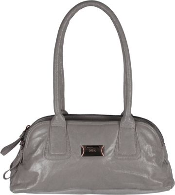 Latico Leathers Louise Shoulder Bag Grey - Latico Leathers Leather Handbags