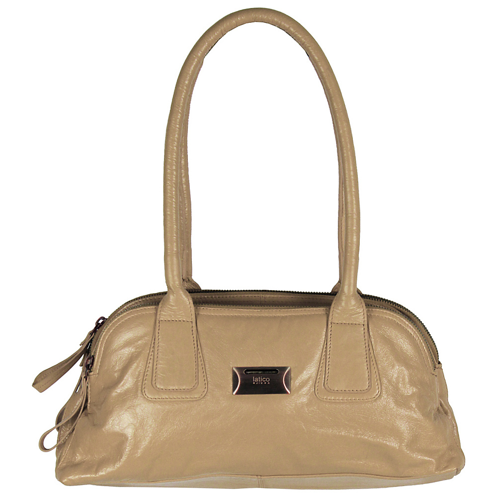 Latico Leathers Louise Shoulder Bag Almond Latico Leathers Leather Handbags