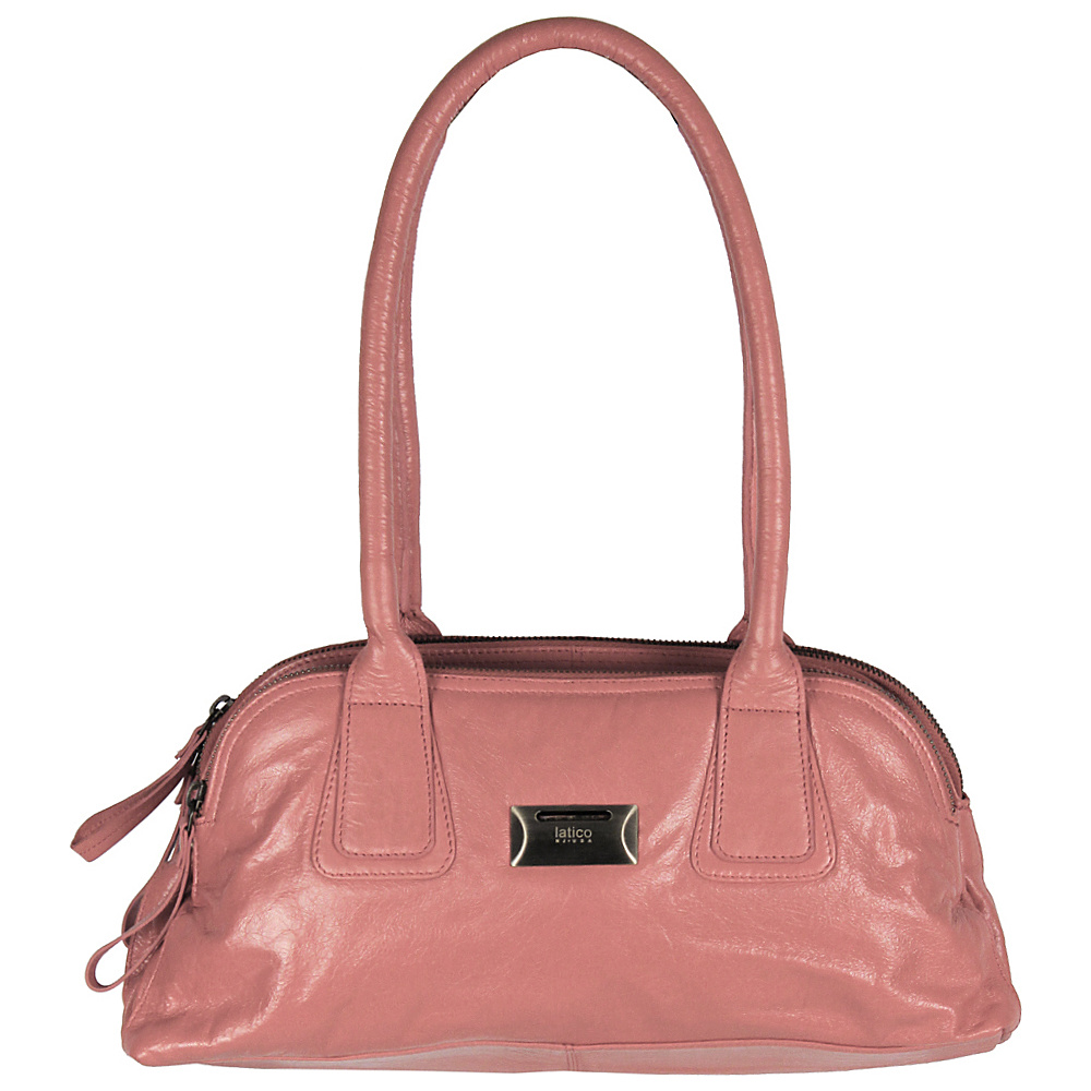 Latico Leathers Louise Shoulder Bag Pink - Latico Leathers Leather Handbags - Handbags, Leather Handbags