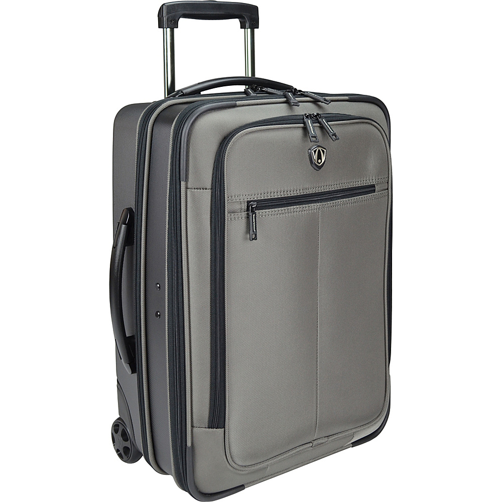 Traveler's Choice Sienna 21 in. Hybrid Rolling Carry-On Garment Bag / Upright Gray - Traveler's Choice Softside Carry-On