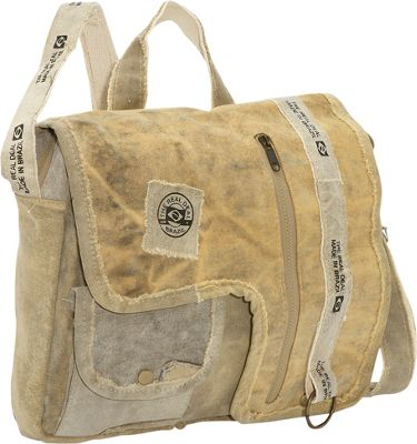The Real Deal Iguape Messenger Bag Canvas - The Real Deal Messenger Bags