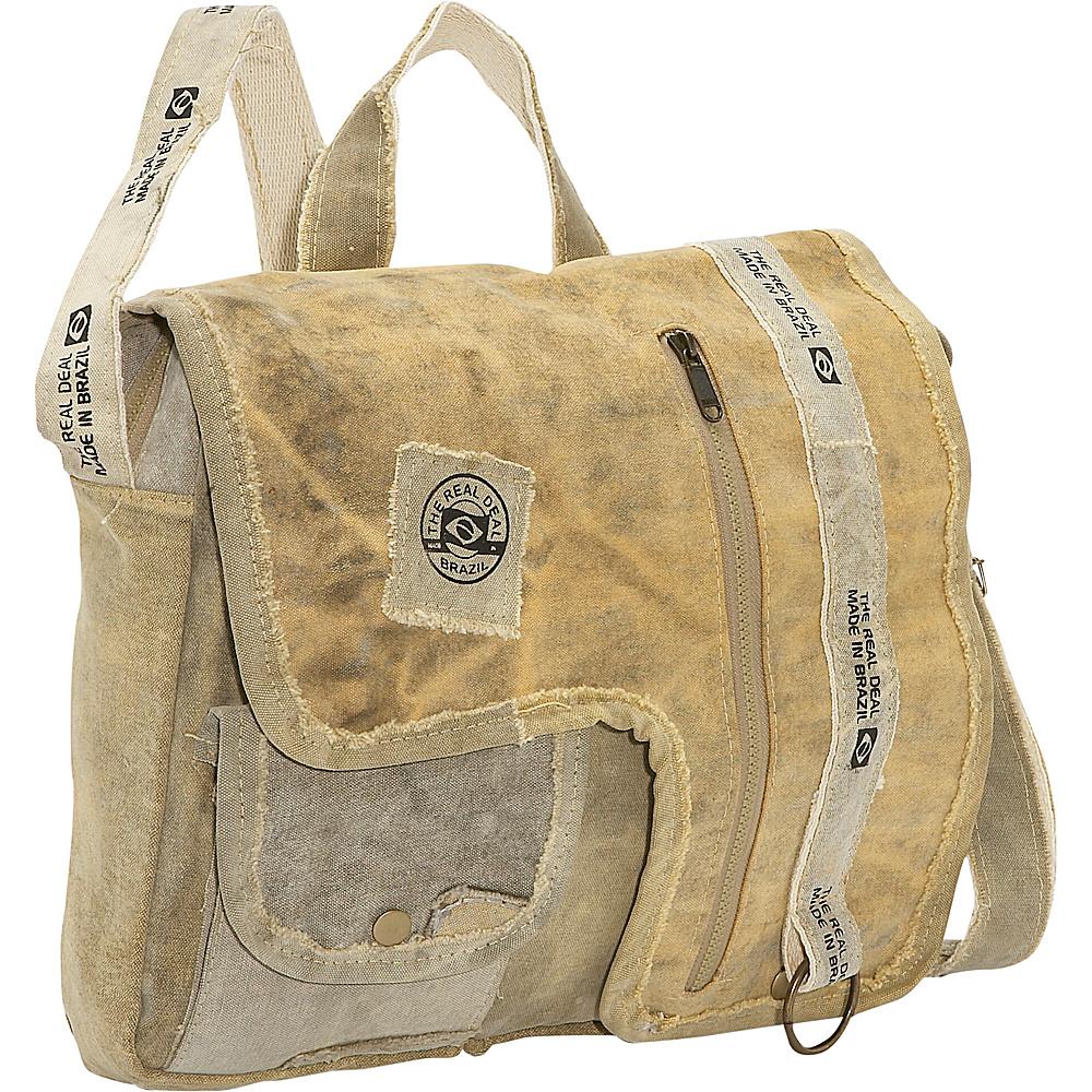 The Real Deal Iguape Messenger Bag Canvas - The Real Deal Messenger Bags