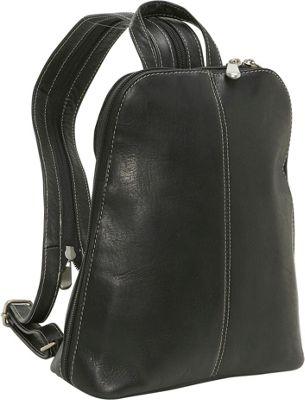 Le Donne Leather U-Zip Women's Sling/Back Pack 5 Colors ...
