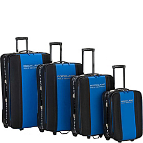 Polo 4 Piece Luggage Set Black & Navy