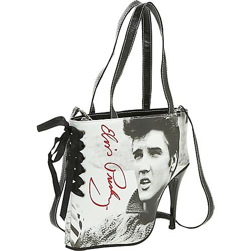 Ashley M Elvis Sweater Shoe Bag - Tote