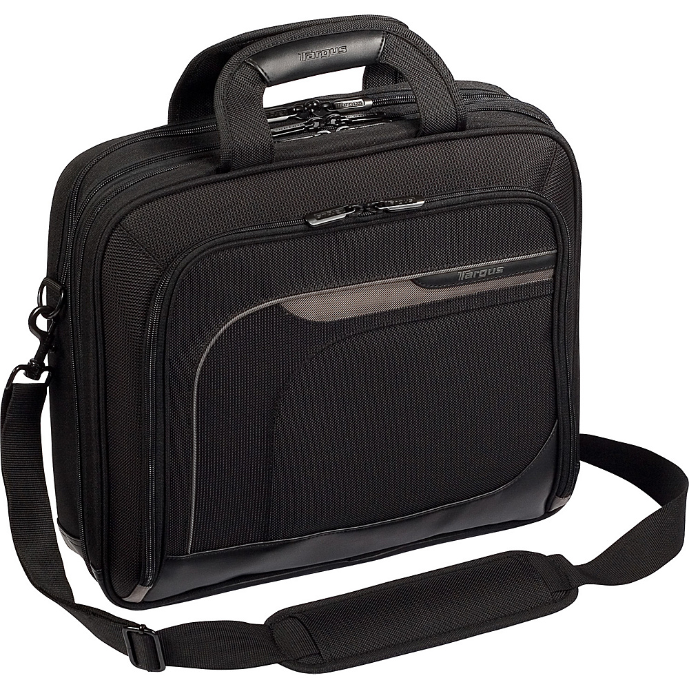 Targus Zip-Thru 15.4 Mobile Elite Laptop Case - Black - Work Bags & Briefcases, Non-Wheeled Business Cases