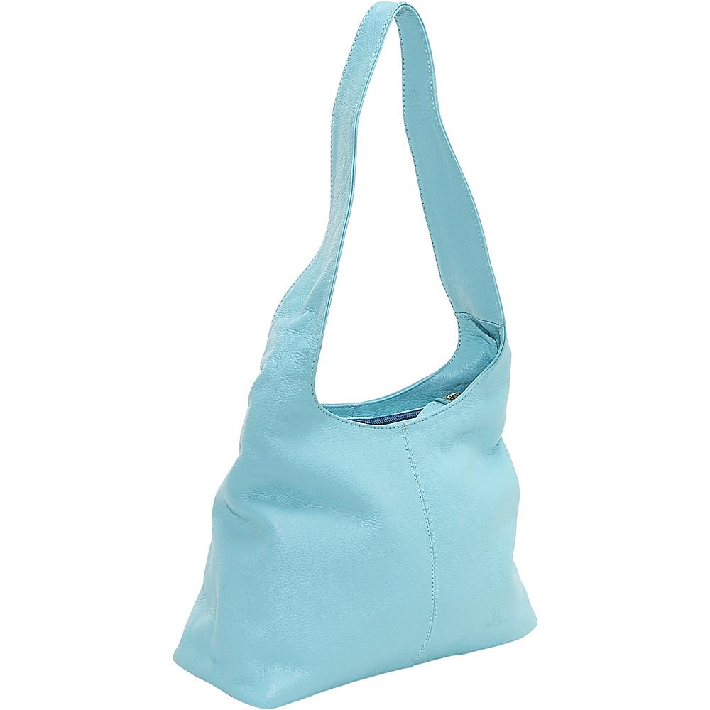 John Cole Ximena - Sky Blue - Handbags, Leather Handbags