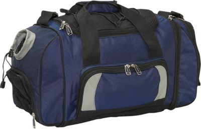 Russell Deluxe 21 inch Duffle Bag - Royal/Black