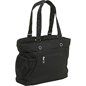 Beatrice Laptop Tote Black