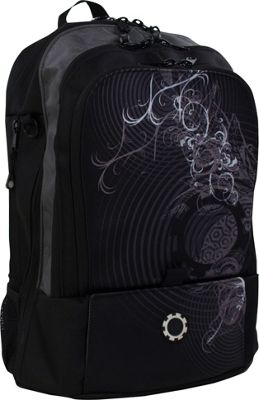 DadGear Backpack Graphics - Concentric Circles