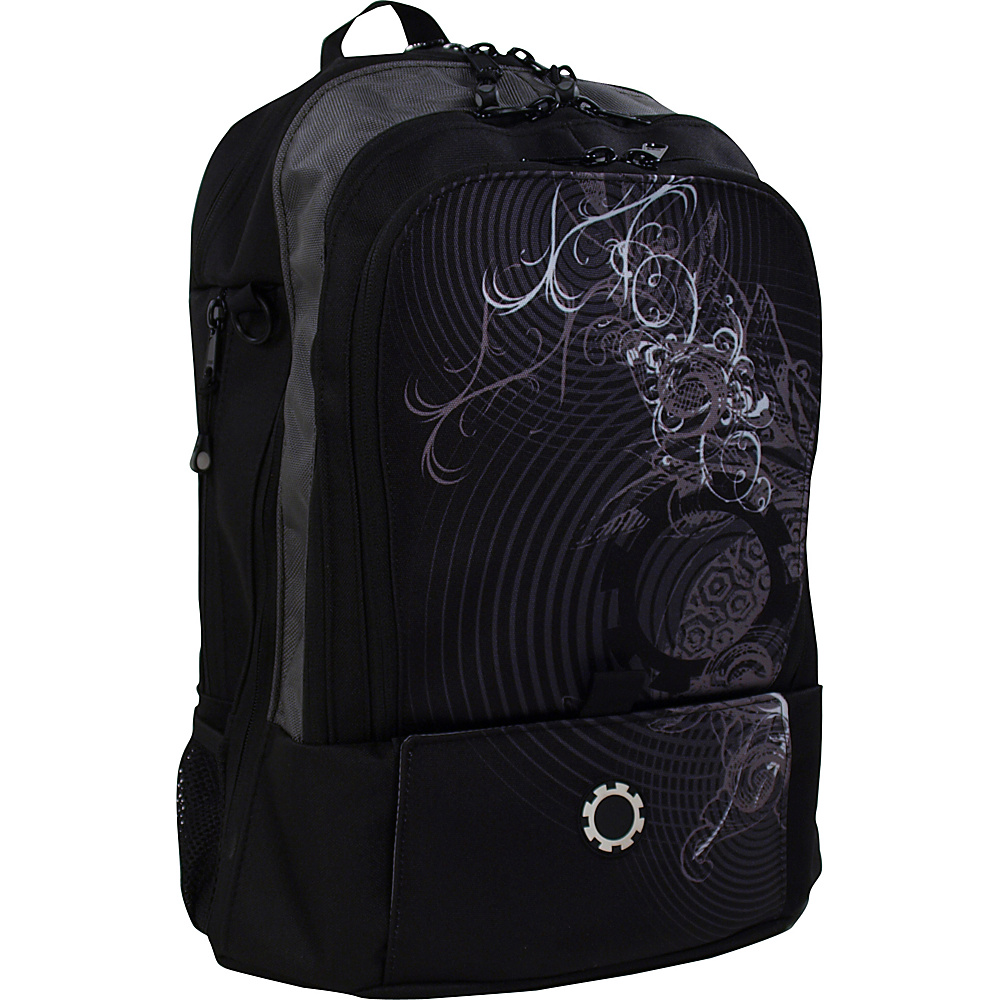 DadGear Backpack Graphics - Concentric Circles - Backpacks, Everyday Backpacks