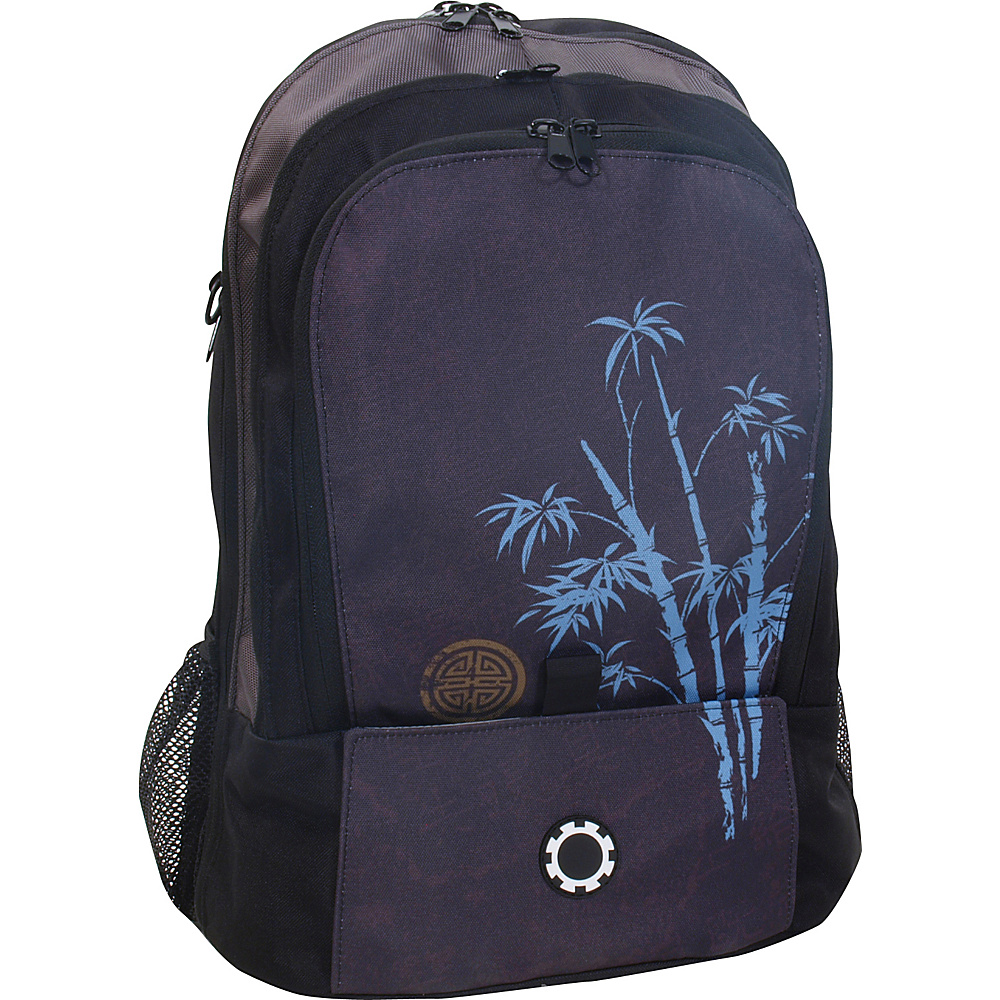 DadGear Backpack Graphics - Blue Bamboo - Backpacks, Everyday Backpacks