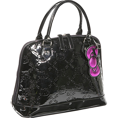 Loungefly Hello Kitty Black Embossed Bag - Shoulder Bag