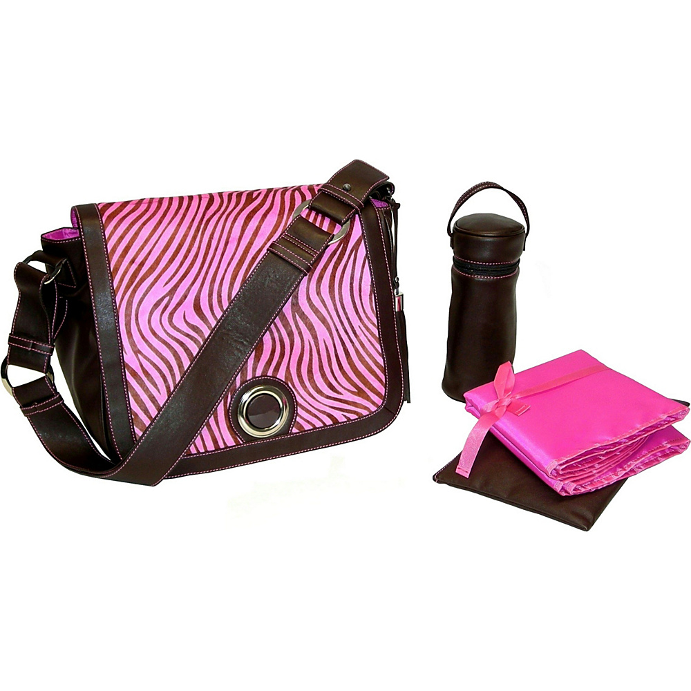 Kalencom Madonna - Zebra-Pink - Handbags, Diaper Bags & Accessories