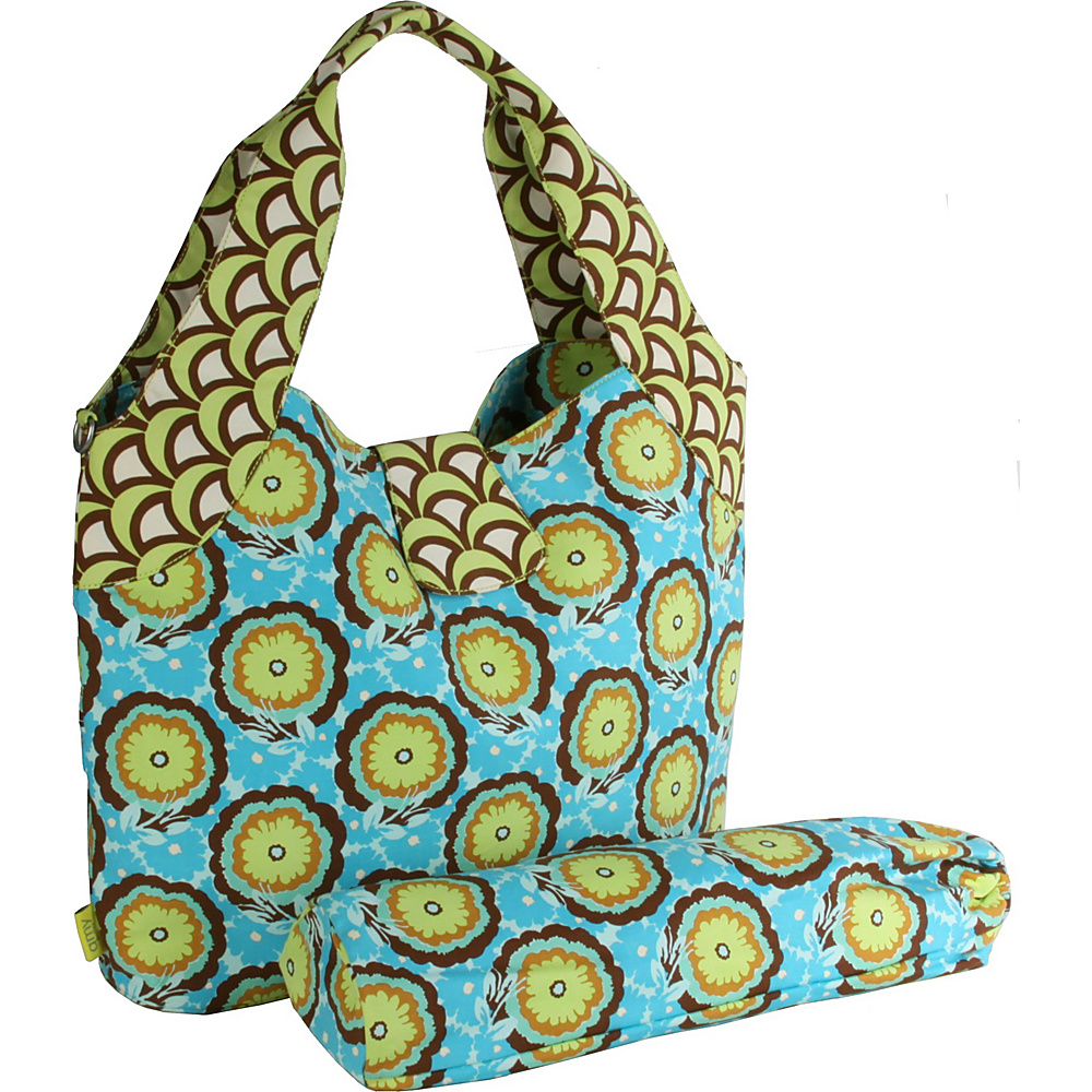 Amy Butler for Kalencom Tulip Diaper Bag Buttercups