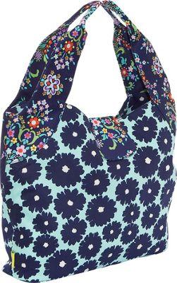 Amy Butler for Kalencom Tulip Diaper Bag - Poppies Blue