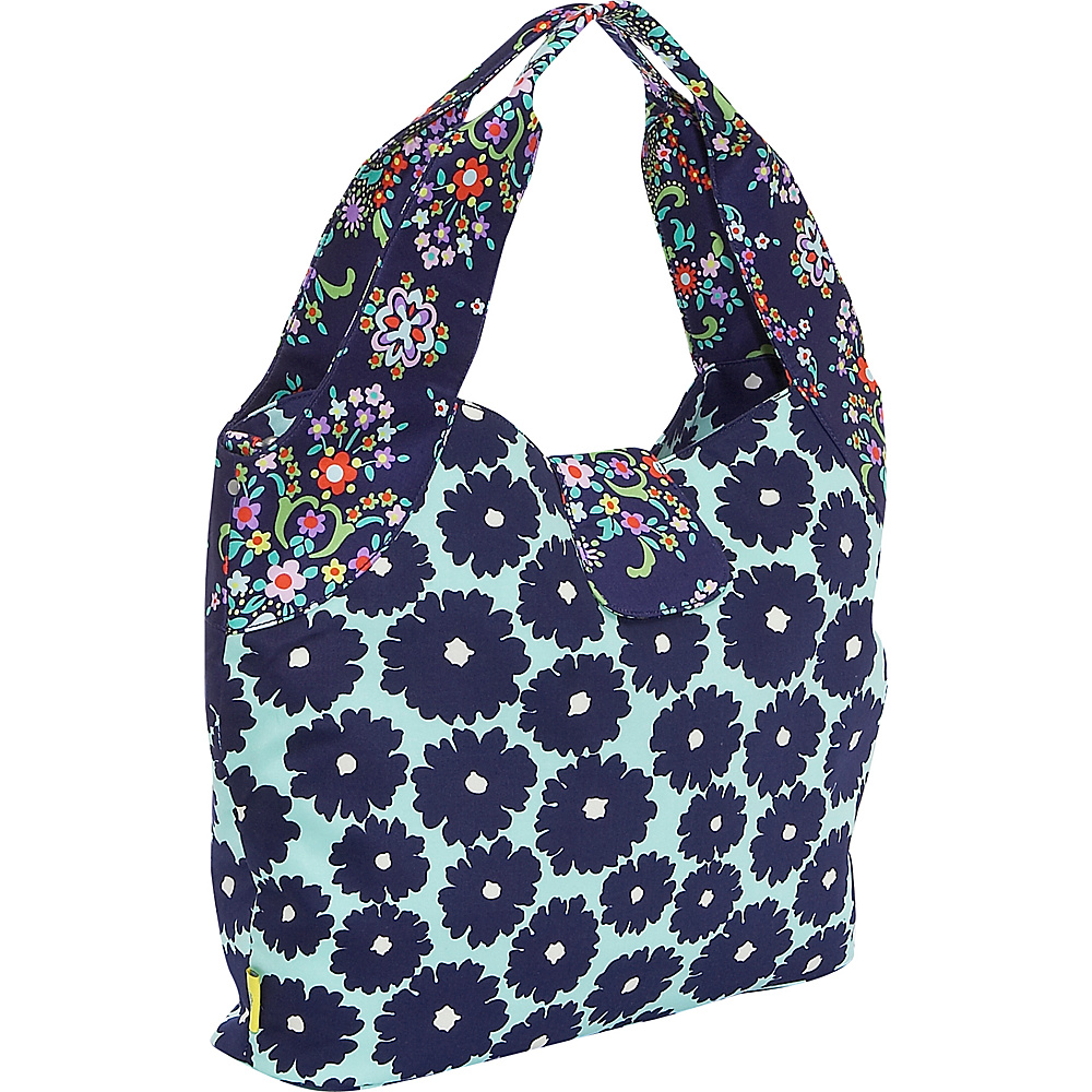 Amy Butler for Kalencom Tulip Diaper Bag Poppies Blue
