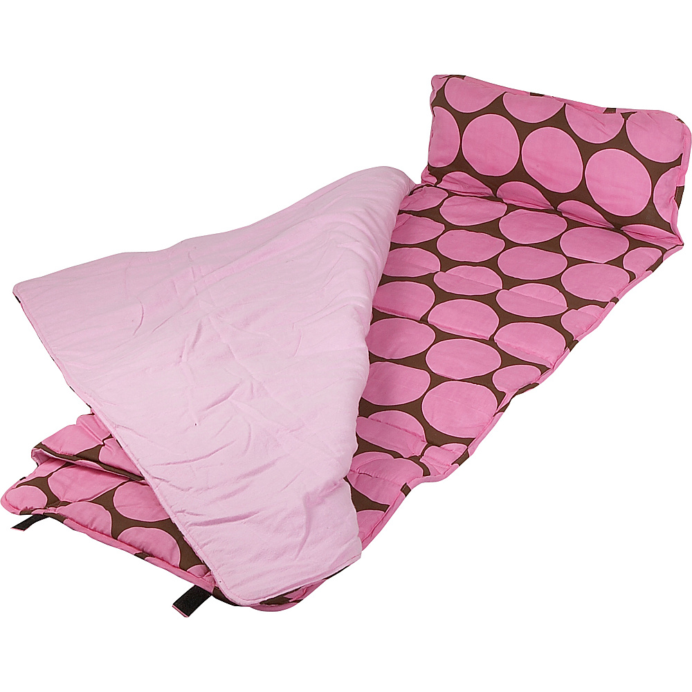 Wildkin Big Dots - Pink Nap Mat - Big Dots - Pink - Travel Accessories, Travel Pillows & Blankets