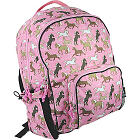Horses in Pink Macropak Backpack Horses in Pink