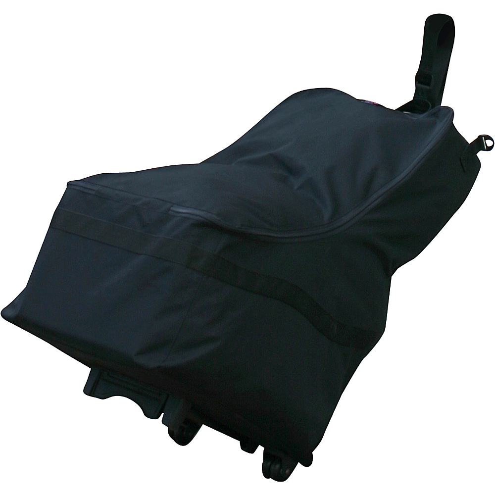 J.L. Childress Wheelie Car Seat Travel Bag Black