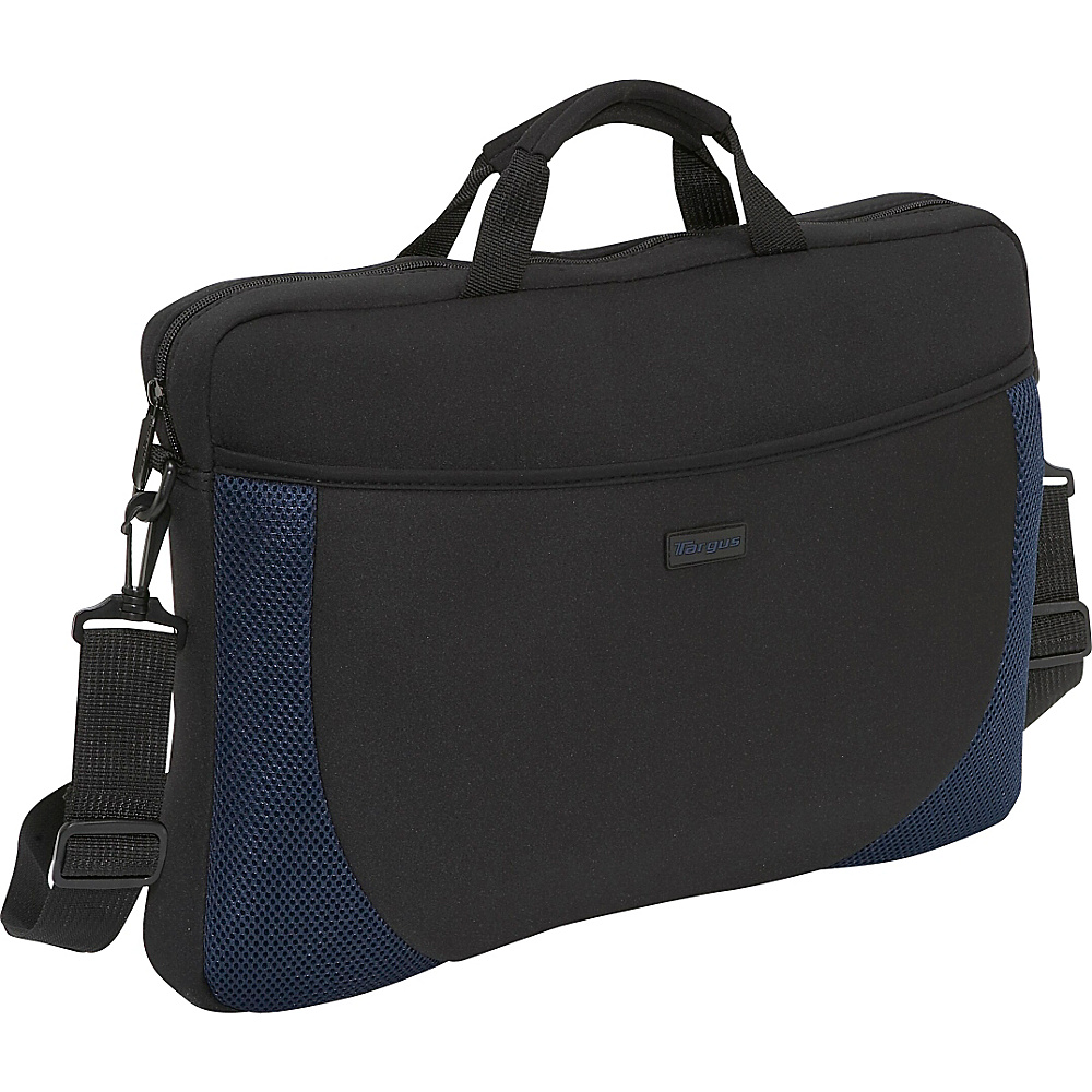 Targus 17 Laptop Sleeve - Black/Blue - Work Bags & Briefcases, Non-Wheeled Business Cases