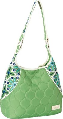 cinda b Mini Hobo Verde Bonita - cinda b Fabric Handbags