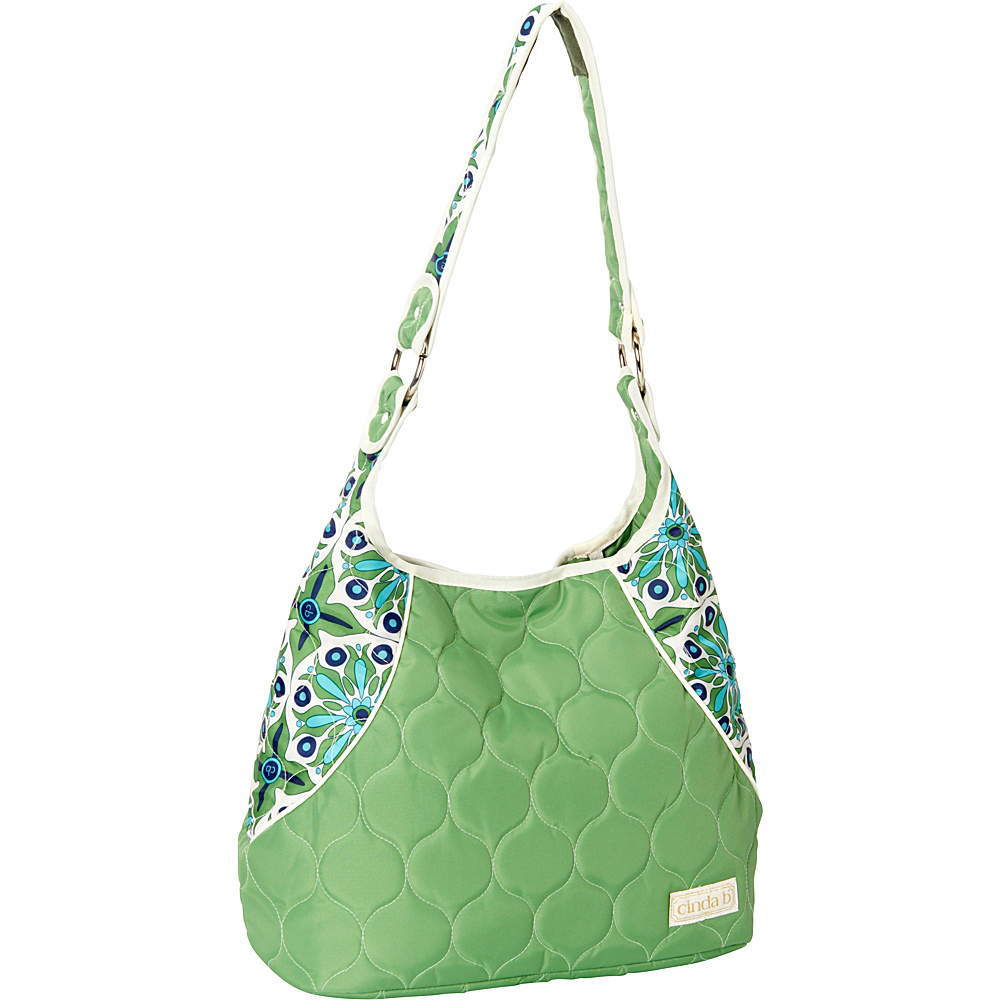 cinda b Mini Hobo Verde Bonita cinda b Fabric Handbags