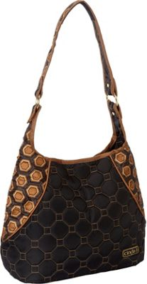 cinda b Mini Hobo Mod Tortoise - cinda b Fabric Handbags