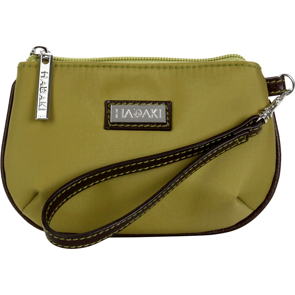 Hadaki ID Wristlet - Nylon - Moss Green - Women's SLG, Women's Wallets