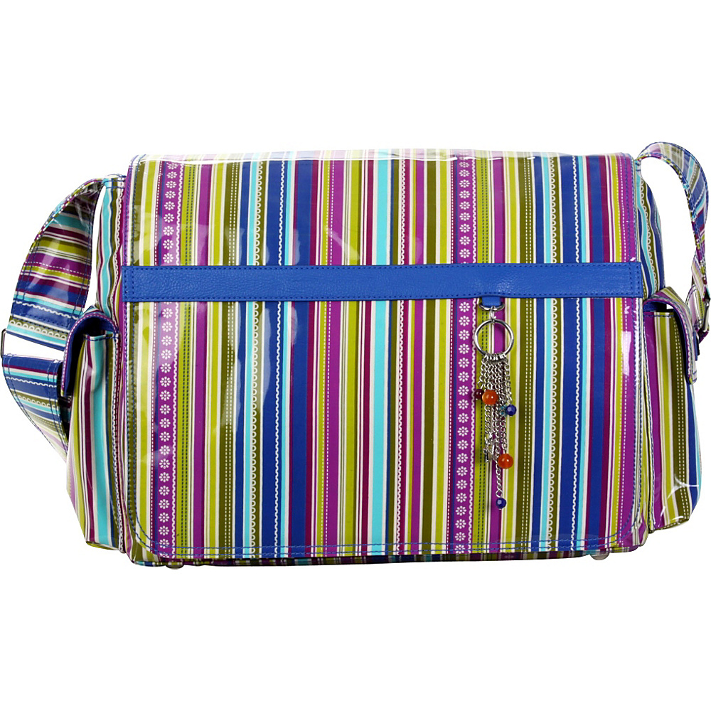 Hadaki Multitasker Laptop Pod Cobalt Stripes