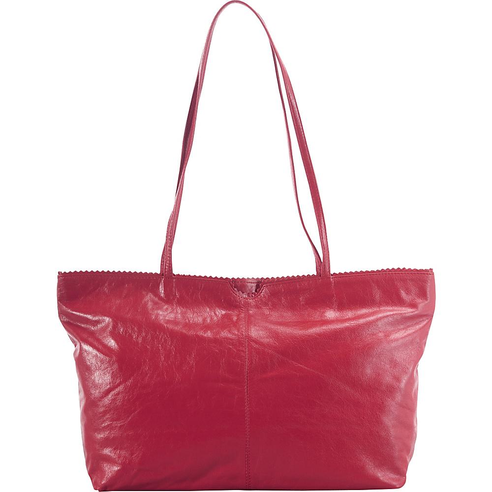 Latico Leathers Carmen Tote Berry - Latico Leathers Leather Handbags - Handbags, Leather Handbags